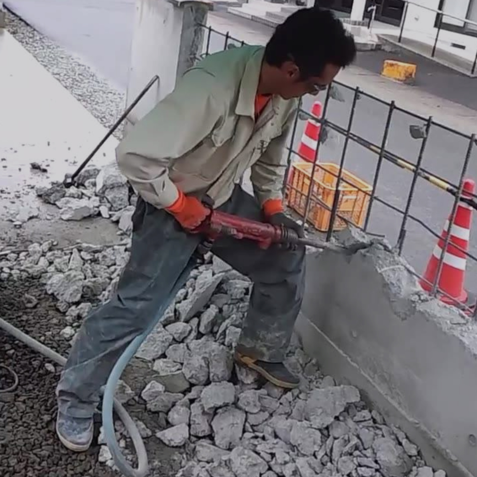 コンクリートのしごと